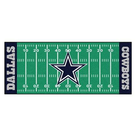 - NFL Dallas Cowboys Football Field Runner