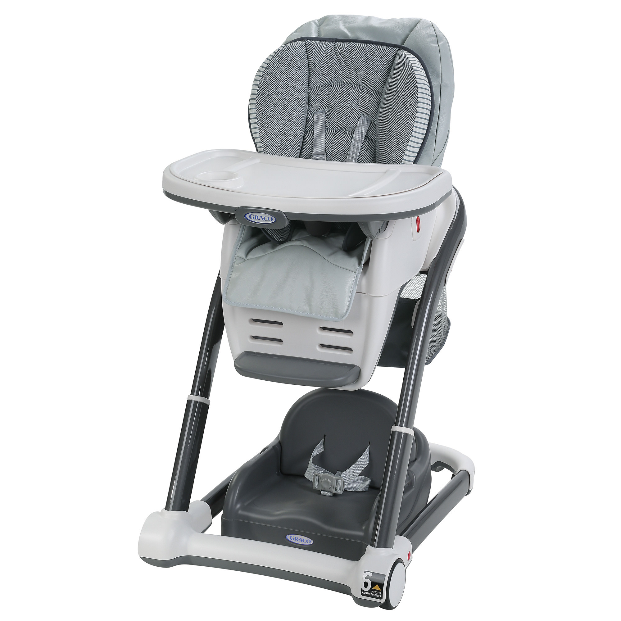 Graco® Blossom™ LX 6-in-1 Convertible High Chair, Raleigh