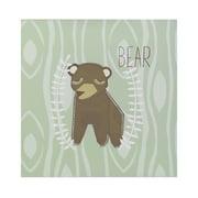 Lolli Living Bear Wall Plaque
