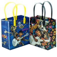 Disney Coco Seize Your Moment 12 Party Favor Reusable Goodie Small Gift Bags