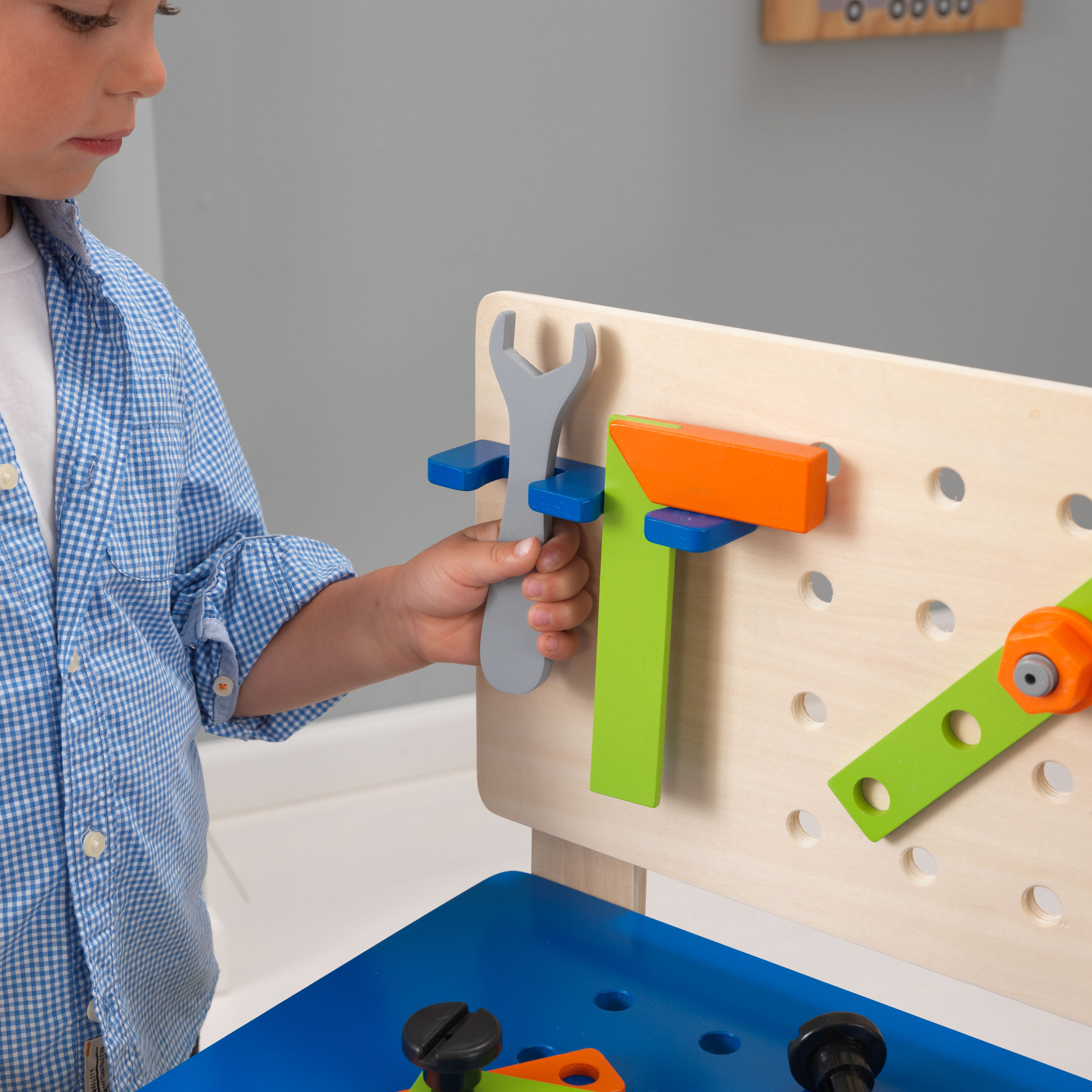 KidKraft Deluxe Workbench with Tools Walmart