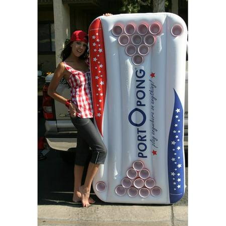 Portopong Inflatable Beer Pong Table Walmart Com