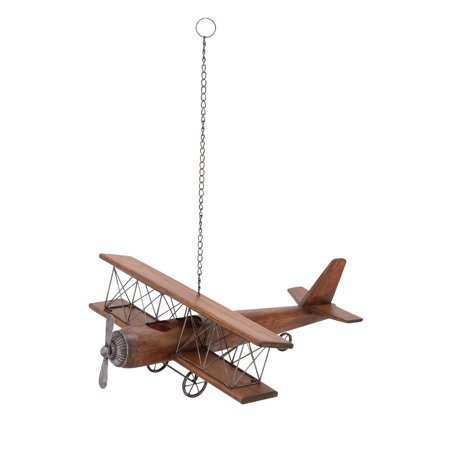 Contemporary Styled Wood Airplane