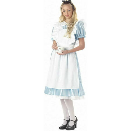 Adult Alice Costume California Costumes 1191 (Alice Halloween Costumes From Alice In Wonderland)
