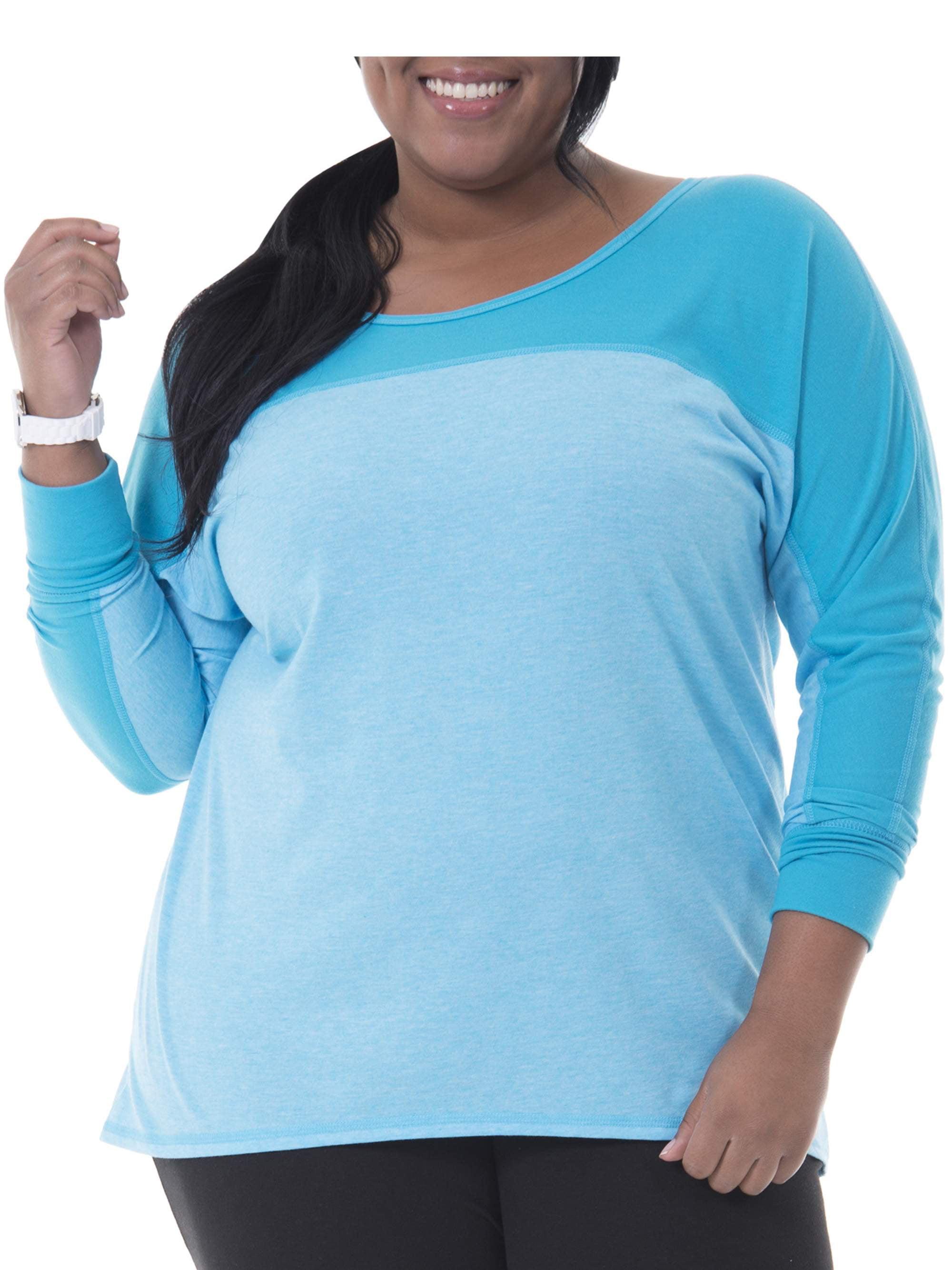 Women's Plus Size Dolman Tunic Top