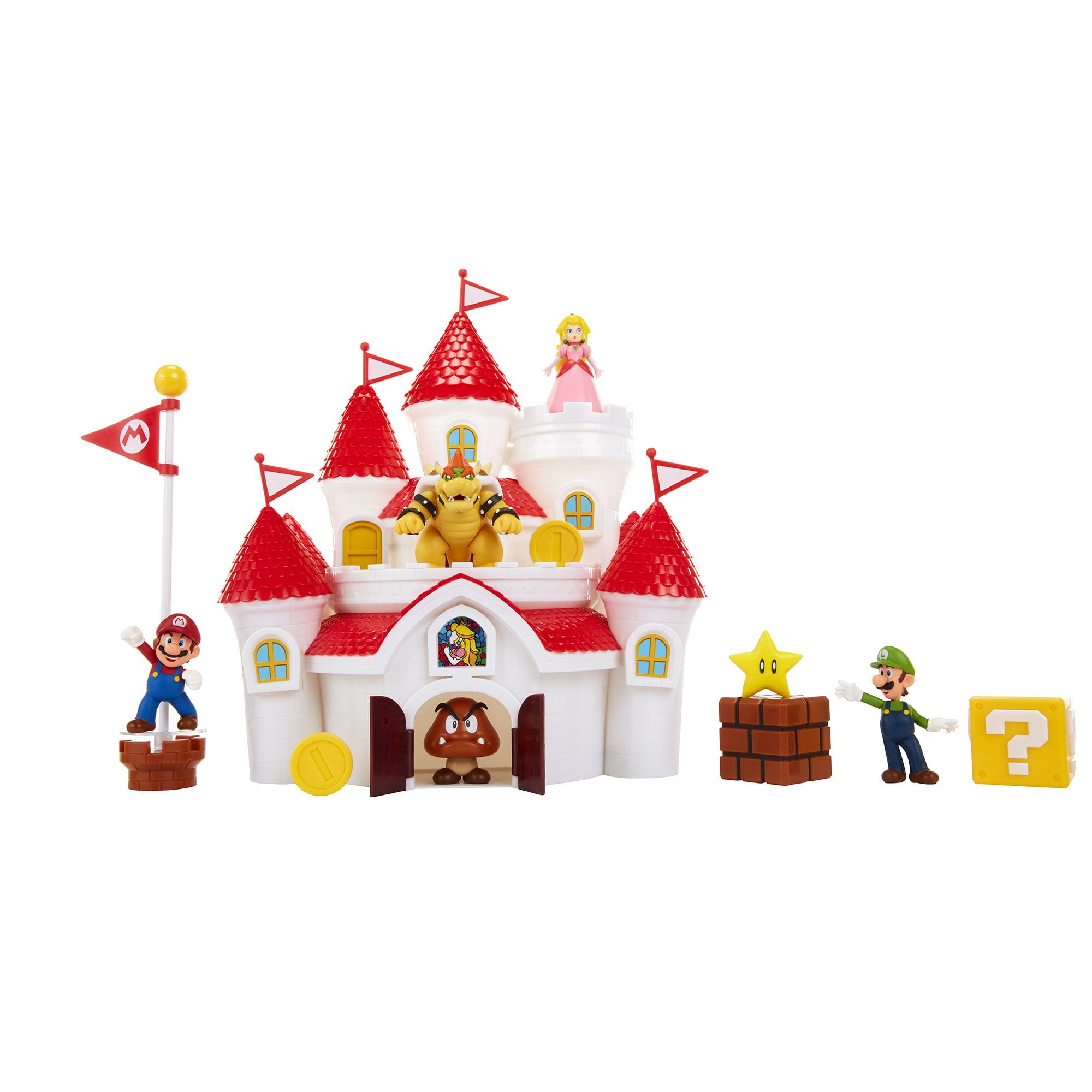 Mushroom Kingdom Princess Black Plastic License Plate Frame Mario