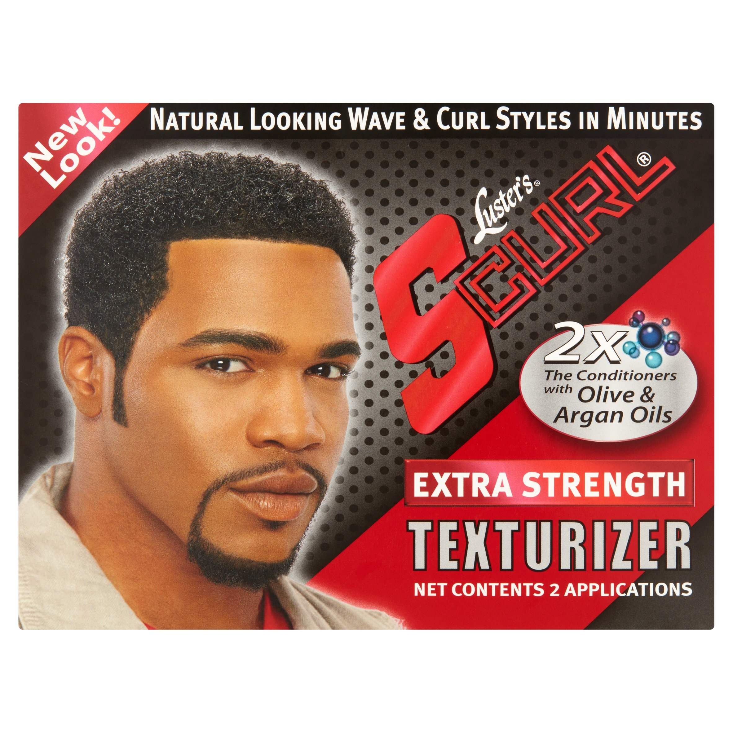 S-Curl Extra Strength Texturizer, 2ct