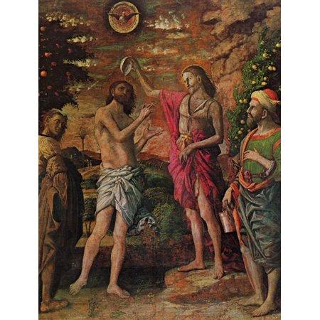 Framed Art for Your Wall Mantegna, Andrea - baptism of Christ 10 x 13 Frame