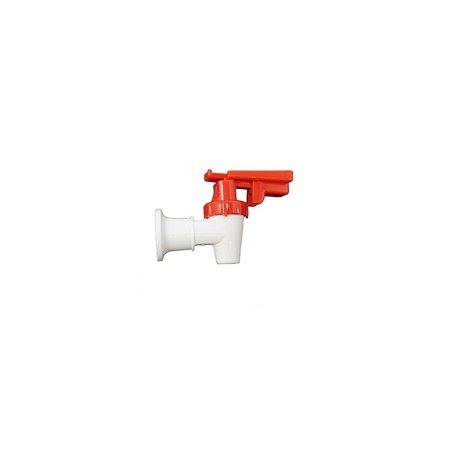 oasis 032135-114 faucet assembly, white body and red safety handle