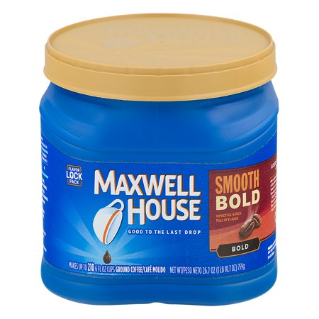 Maxwell House Ground Coffee Smooth Bold, 26.7 OZ