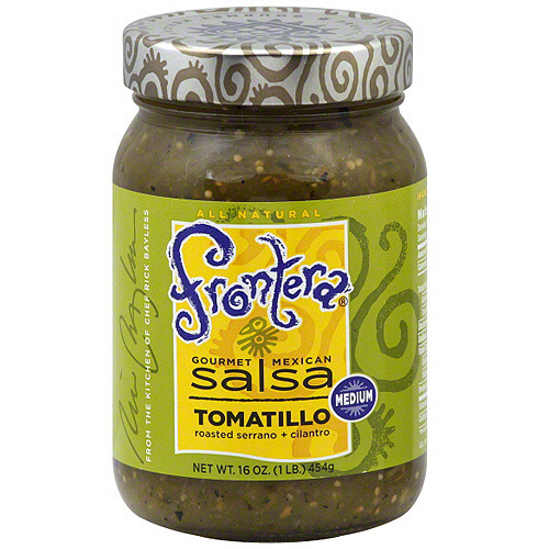Frontera Gourmet Mexican Tomatillo Salsa, 16 oz (Pack of 6)