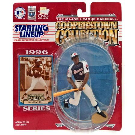 MLB Cooperstown Collection Hank Aaron Action Figure ()