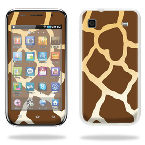 Mightyskins Protective Vinyl Skin Decal Cover for Samsung Galaxy Player 4.0 MP3 Player wrap sticker skins Giraffe