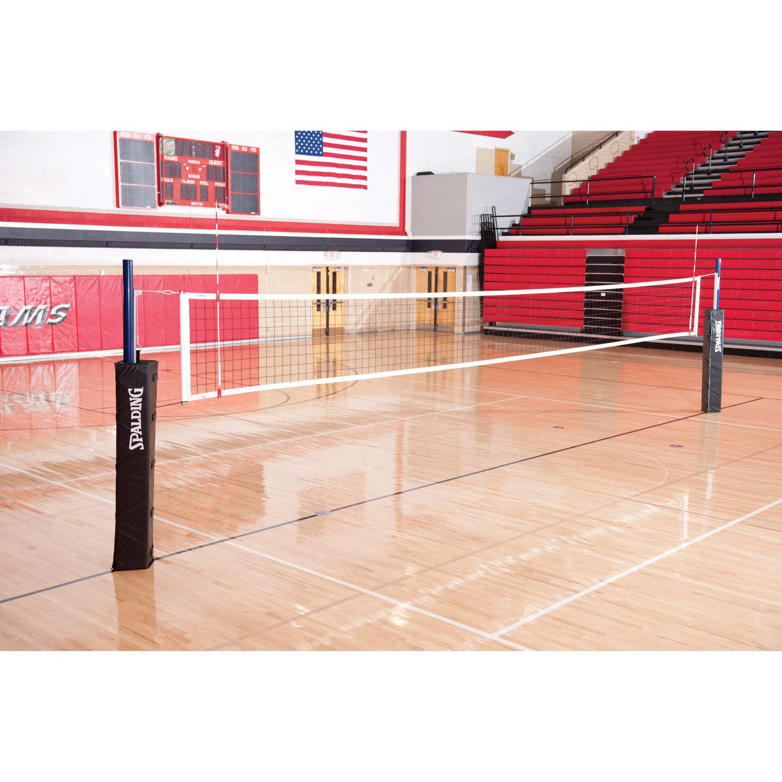 Spalding One-Court Elite Aluminum Volleyball System