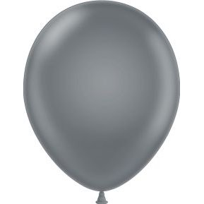 Grey Latex Balloons (Tuf-Tex 24