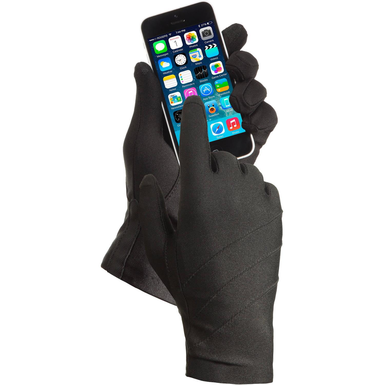 Driving gloves at walmart - Essentials By Isotoner Women S Smartouch Spandex Driving Glove Walmart Com
