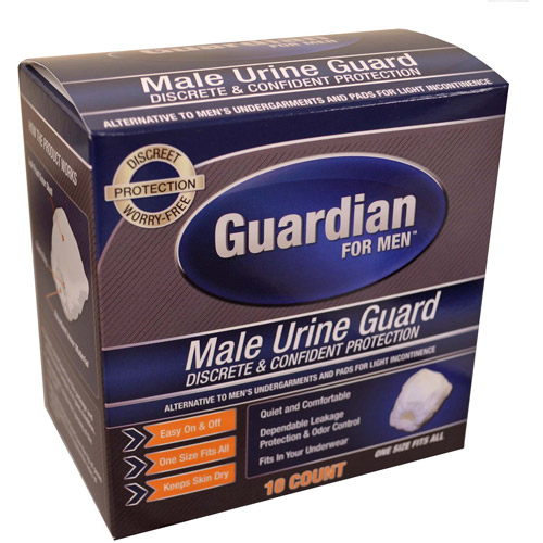 Quest Male Urine Guards, 10ct