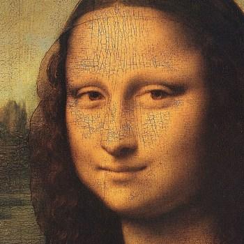 Mona Lisa (detail) Poster Print by Leonardo Da Vinci (12 x 12)