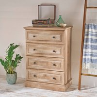 Better Homes & Gardens Crossmill 4-Drawer Dresser, Weathered Finish