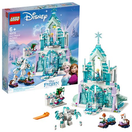 LEGO Disney Princess Elsa's Magical Ice Palace 43172 Toy Castle Building Kit (701 pieces)