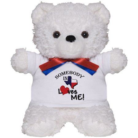 CafePress - Somebody In Texas Loves Me - Teddy Bear, Plush Stuffed Animal](Halloween Stuff Near Me)