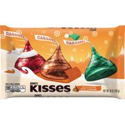 Hershey's, Holiday Kisses Milk Chocolate filled with Caramel, 10 Oz.