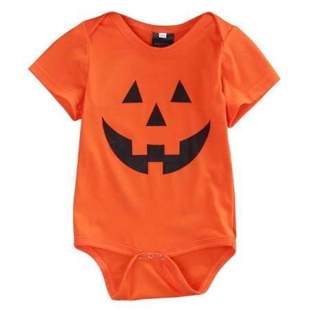 Halloween Newborn Baby Boys Girls Short Sleeve/Long Sleeve Romper Jumpsuit Clothes Outfits US - Boys And Girls Halloween Song
