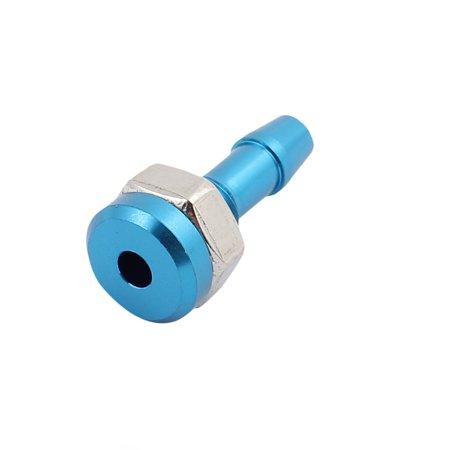 20mm Nozzle (Pair M6 Water Outlet Nozzle Nut Diameter 10mm Length 20mm Blue )