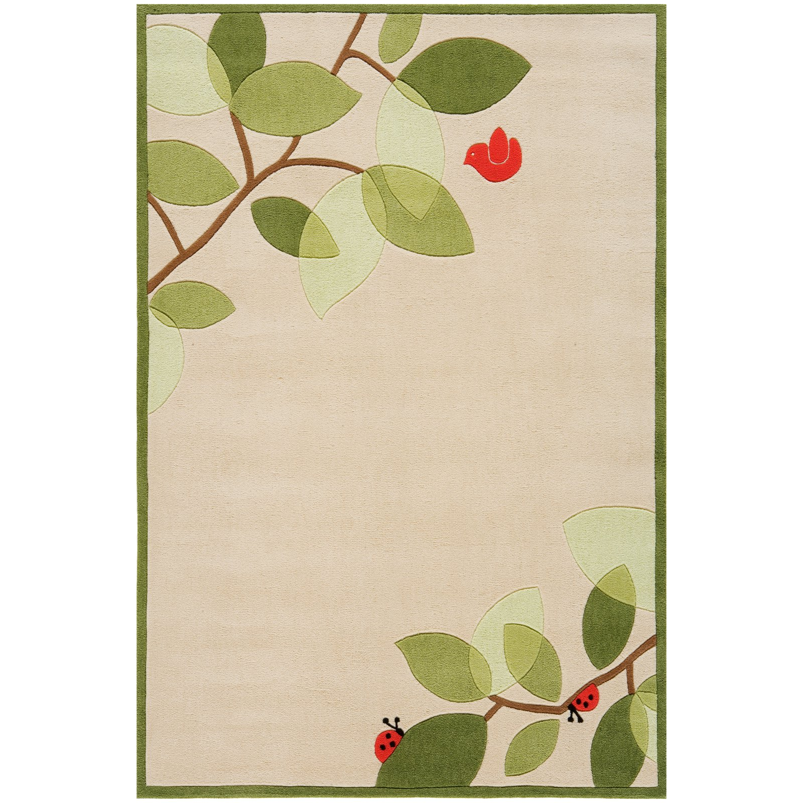 Momeni Lil Mo Whimsy Modern Birdie Area Rug