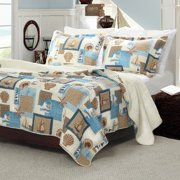 Greenland Home Fashions Beachcomber Quilt Set