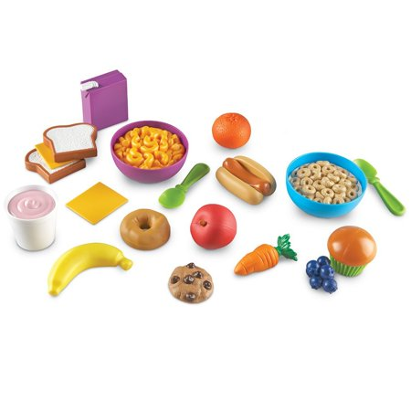 Learning Resources New Sprouts Munch It! Pretend Play Food, 20 Pieces, Ages 18 mos+ (Play Green Sprouts)
