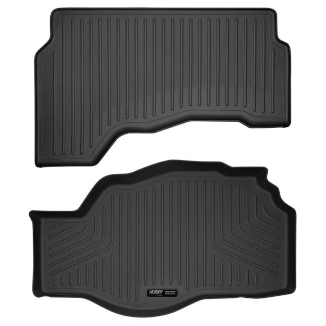 Husky Liners 28212 Cargo Liner Behind 2nd Seat, Grey - 2015-2018 Cadillac Escalade - image 1 of 1