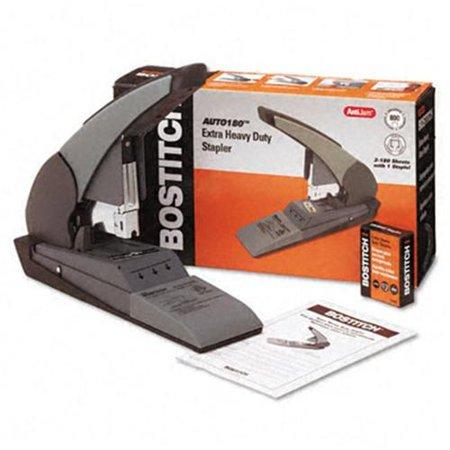 Stanley Bostitch B380HDBLK B380HD-BLK Auto 180 Hvy-Duty Stapler  180 Sheet Cap  BLK/Beige