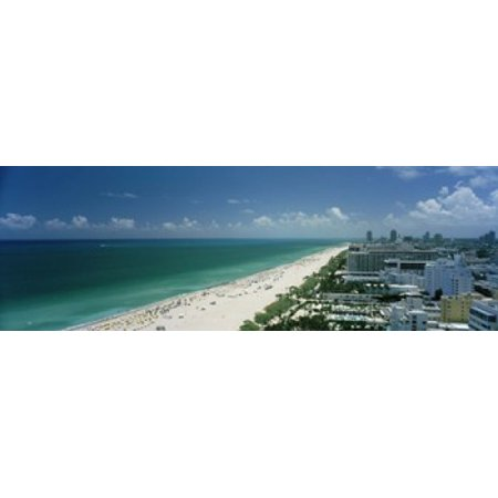 City at the beachfront South Beach Miami Beach Florida USA Stretched Canvas - Panoramic Images (18 x 6)](Party City South Beach)