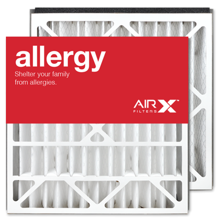 AIRx Filters Allergy 21x21.5x5 Air Filter MERV 11 AC Furnace Pleated Air Filter Replacement for Trane / American Standard BAYFTAH21M BAYFTAH21M2 FLR0607 Box of 2, Made in the USA