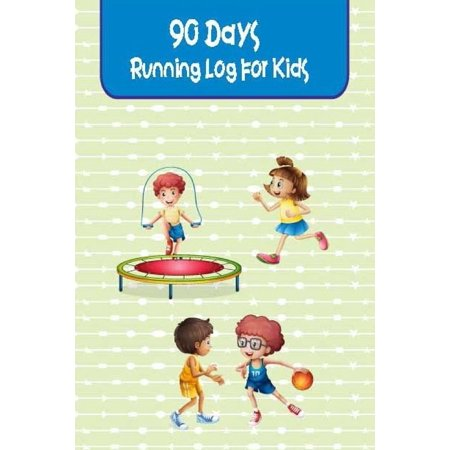 Kid Art Dancing Girl (90 Days Running Log for Kids : Exercise Journal Records All Activities Movement Such as Run Jogging, Dancing Etc. Tips, Challenge and Worksheet for Kids, Children, Girl, Boy. Pocket Size 6x9 Inch.)