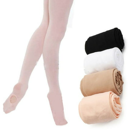 Convertible Tights Dance Stocking Socks Ballet Pantyhose for Kids
