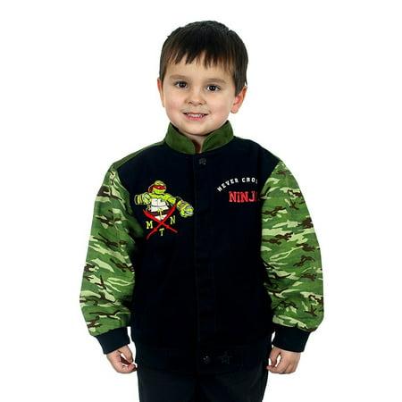 Kids Teenage Mutant Ninja Turtles Snap Up Jacket