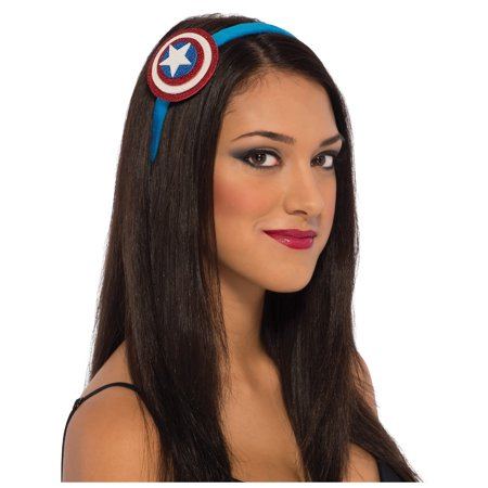 Womens American Dream Captain America Headband Costume (Women's Captain Costume)