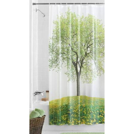 Mainstays Heritage PEVA Shower Curtain