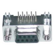 Refurbished Offex OF-3530-14009 DB9 Right Angle Female Connector, Solder Type