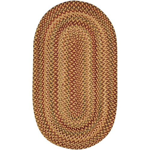 Willow Bay Braided Oval Runner Rug, 2' x 8'