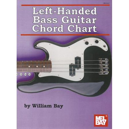 Left-Handed Bass Guitar Chord Chart Left Hand Guitar Chord Book