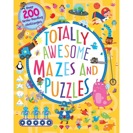 Halloween Maze Puzzles To Print (Totally Awesome Mazes and Puzzles : Over 200 Brain-Bending)