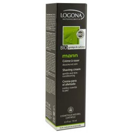 Mann Shaving Cream Logona 2.5 fl oz ( 75 ml) Liquid Logona Facial Care