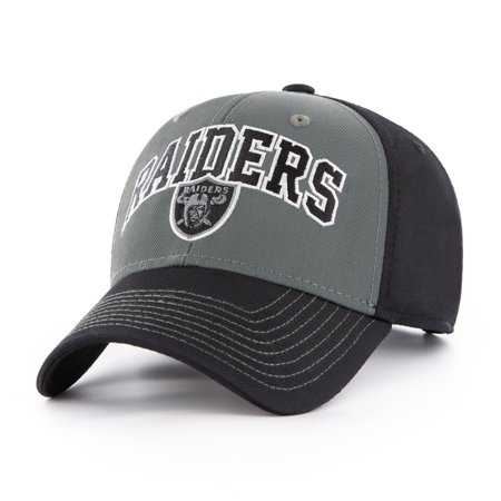 NFL Oakland Raiders Blackball Script Adjustable Cap/Hat by Fan Favorite