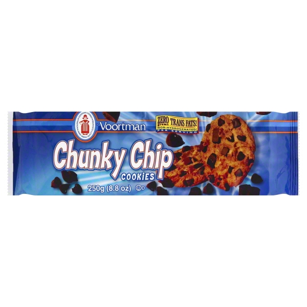 Voortman Chunky Chip Cookies, 8.8 Oz.