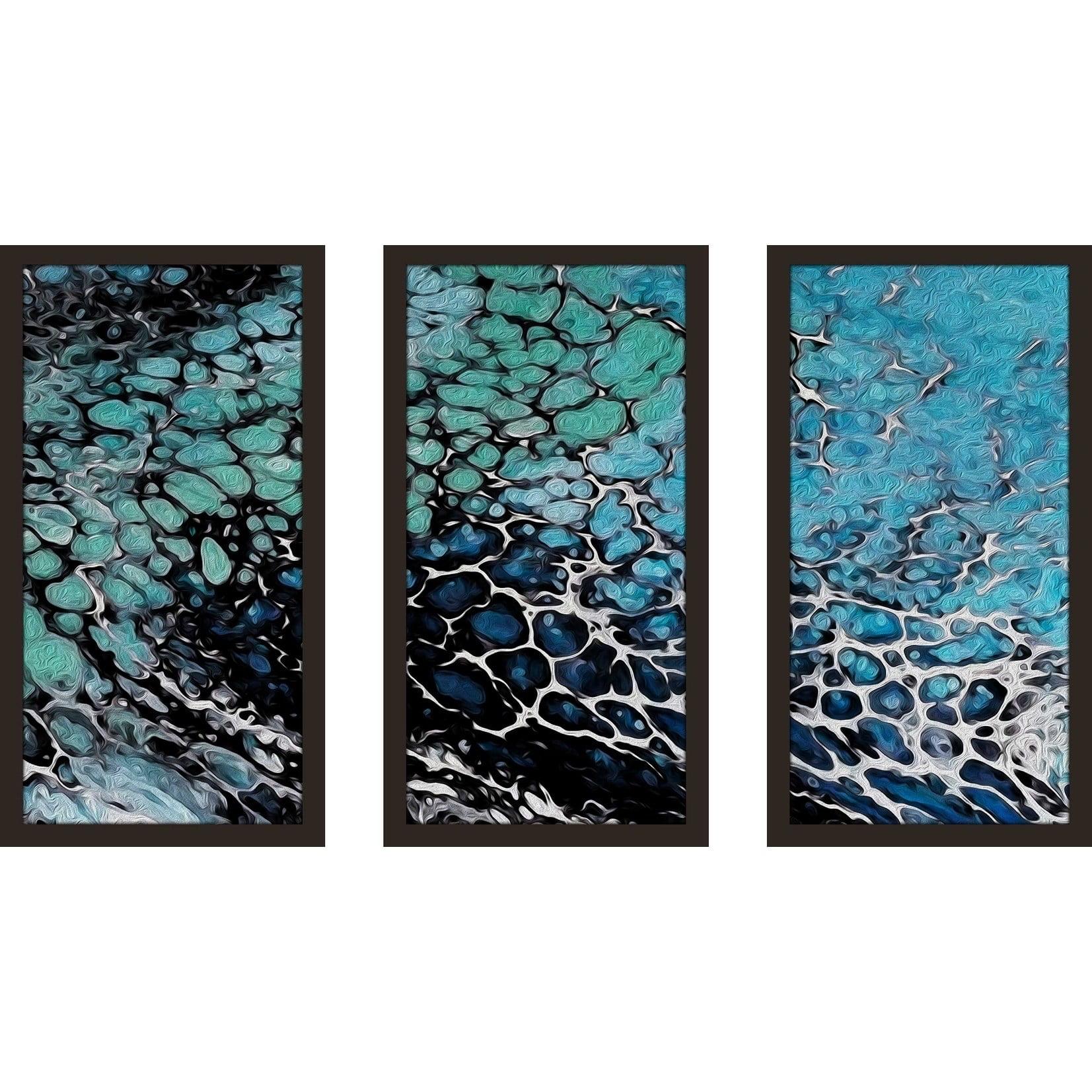 Global Gallery Anne Tavoletti Beach Divas VII Color Giclee Stretched Canvas Artwork 24 x 24