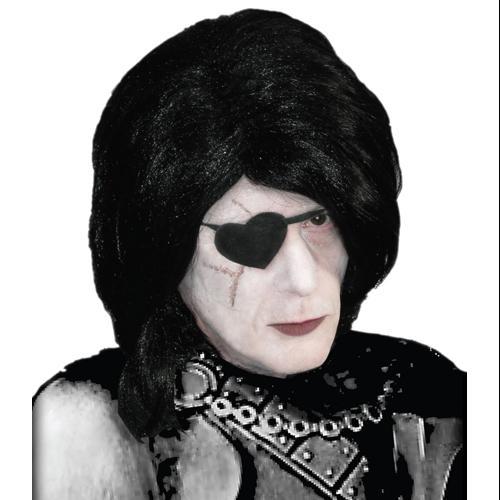 Alice Knave of Hearts Wig & Eyepatch Halloween Costume