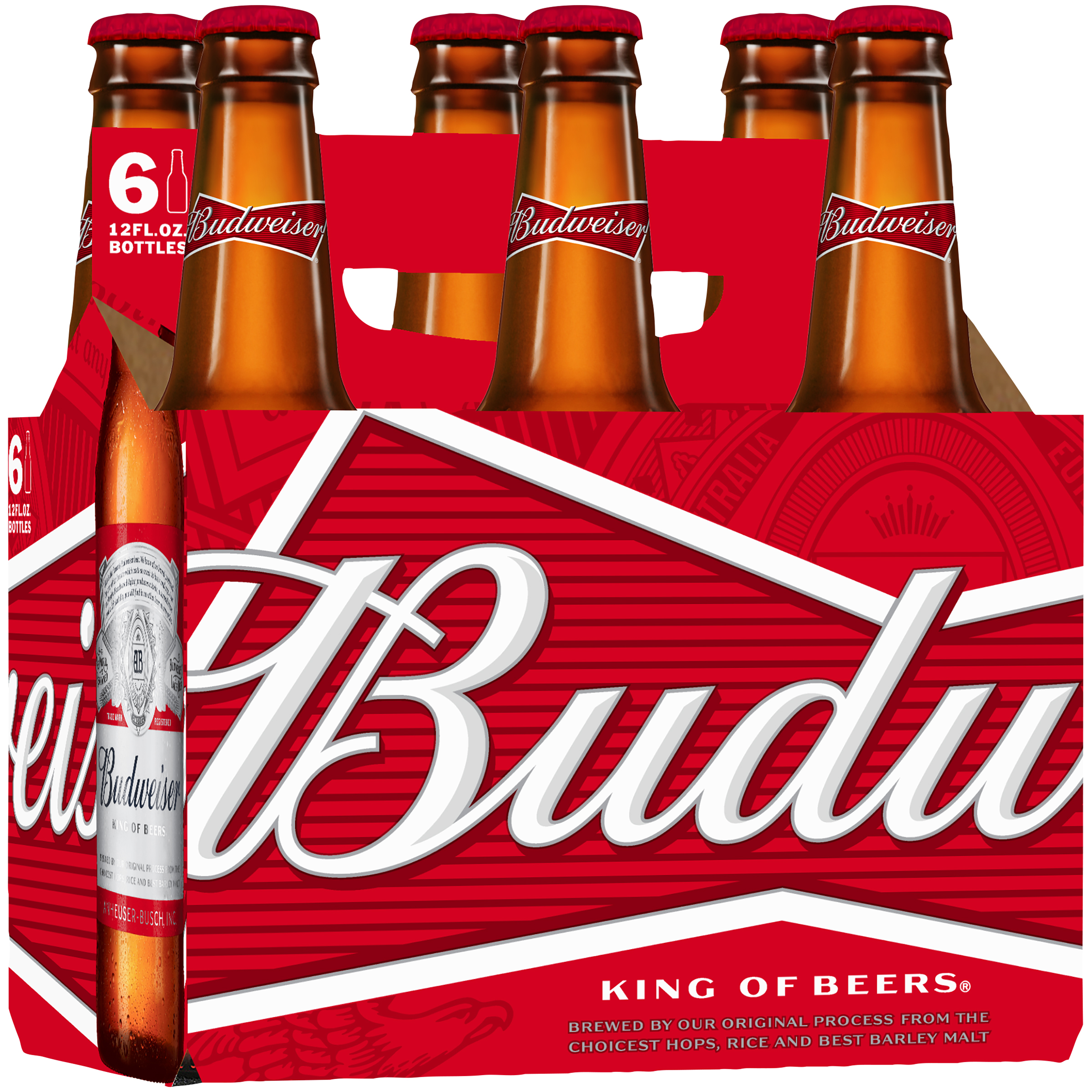 Budweiser Beer, 6 pk 12 fl. oz. Bottles